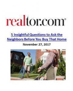 Realtor.com_5 Insightful Questions to Ask the Neighbors Before You Buy That Home