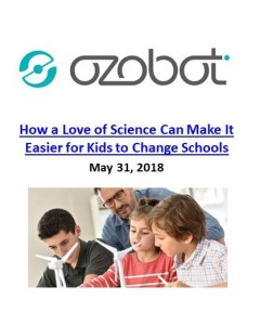 Ozobot_How a Love of Science Can Make it Easier for Kids to Change Schools