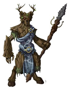 Druid with Color