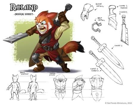 Roland - Design Sheet