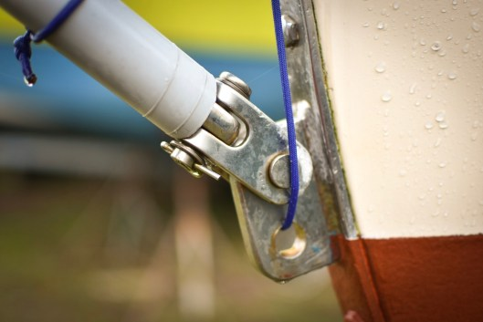 Refitting a sailboat