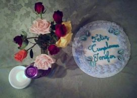 Good cake, sad birthday, as the first day of school loomed over my head.
