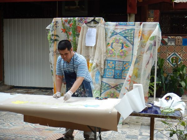J.A. Tan's Paintings on Fabric to be Highlighted at Exhibit and Fashion Show in New York City