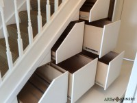 Art of Joinery - Understairs Storage Gallery