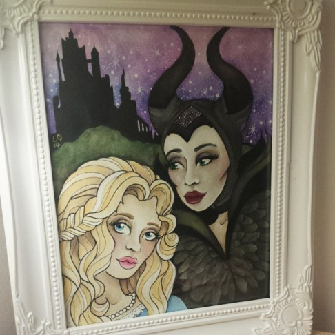Maleficent Painting for sale