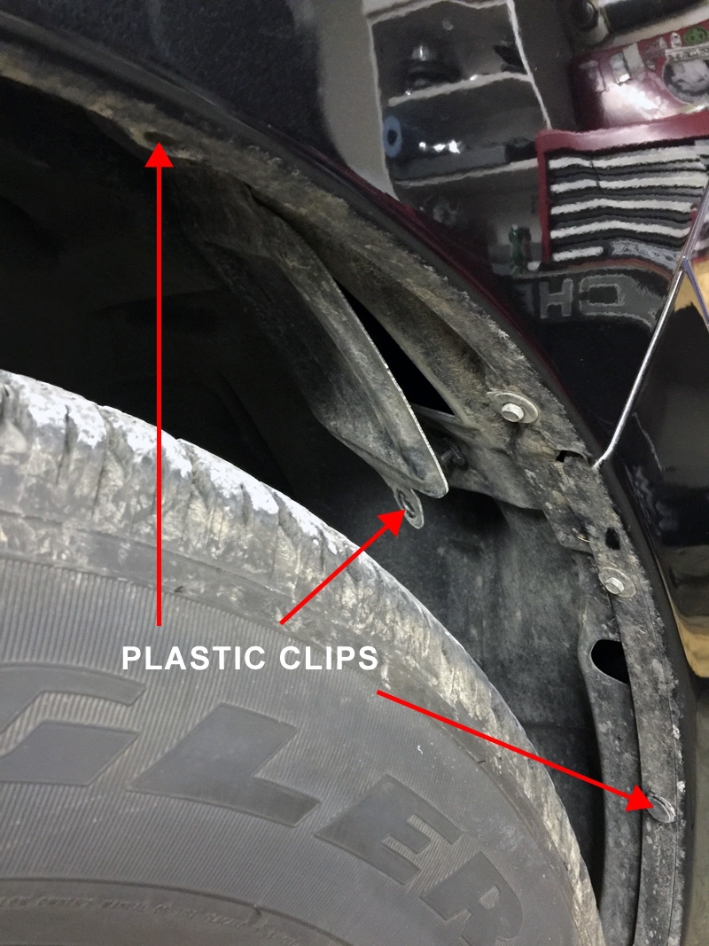 medium resolution of  limited access to the back of the headlight luckily on the 2016 ram 1500 removing the inner fender liner is easily done by carefully popping out the