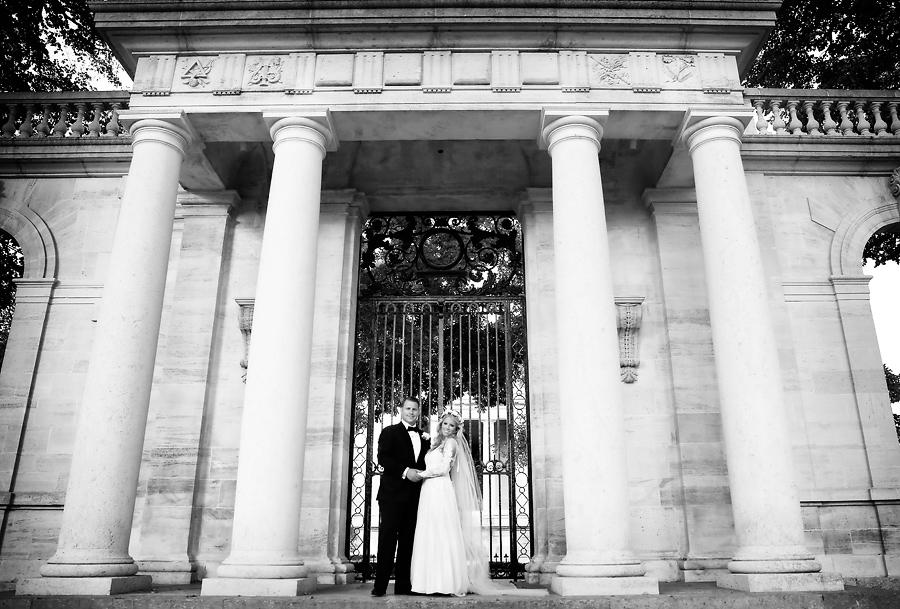 Rodin Museum Wedding Portraits Marie Labbancz Photography