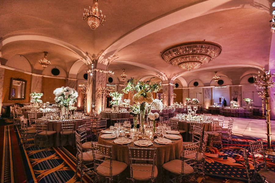 Ritz Carlton Philadelphia Wedding Reception Marie