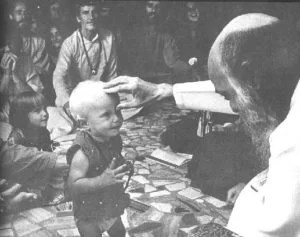 osho with kid
