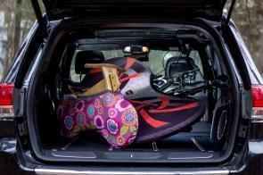 AUTO BLEIBT SAUBER Beim Fahrradtransport Überzug bleibt dein Auto sauber.
