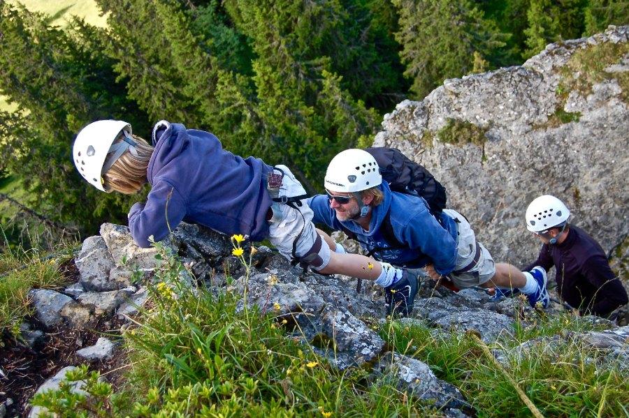 HUUS Familien-Abenteuer Klettern
