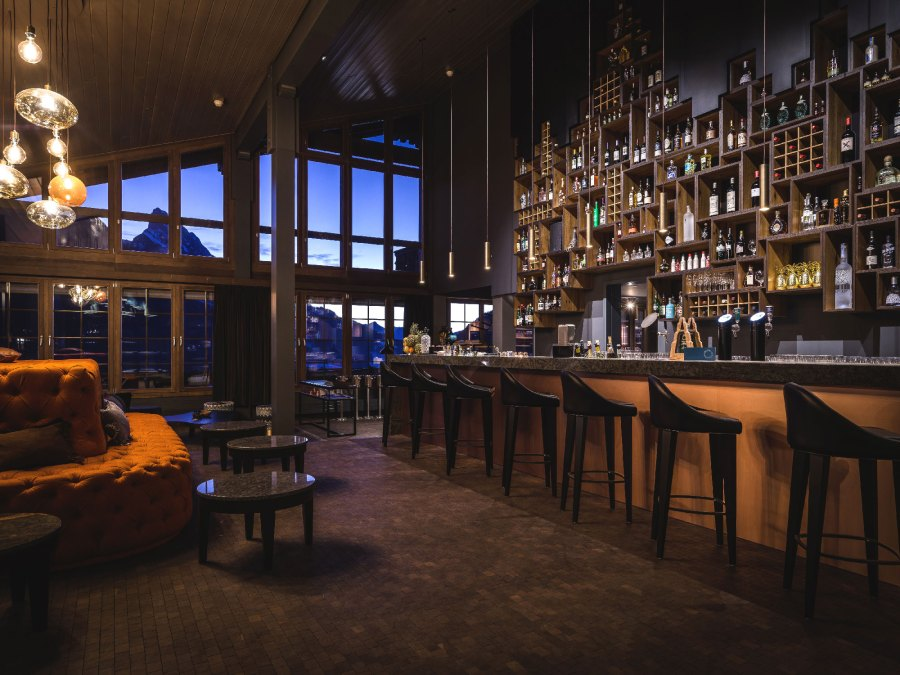 Die HUUS Bar - ein Treffpunkt für ganz Gstaad