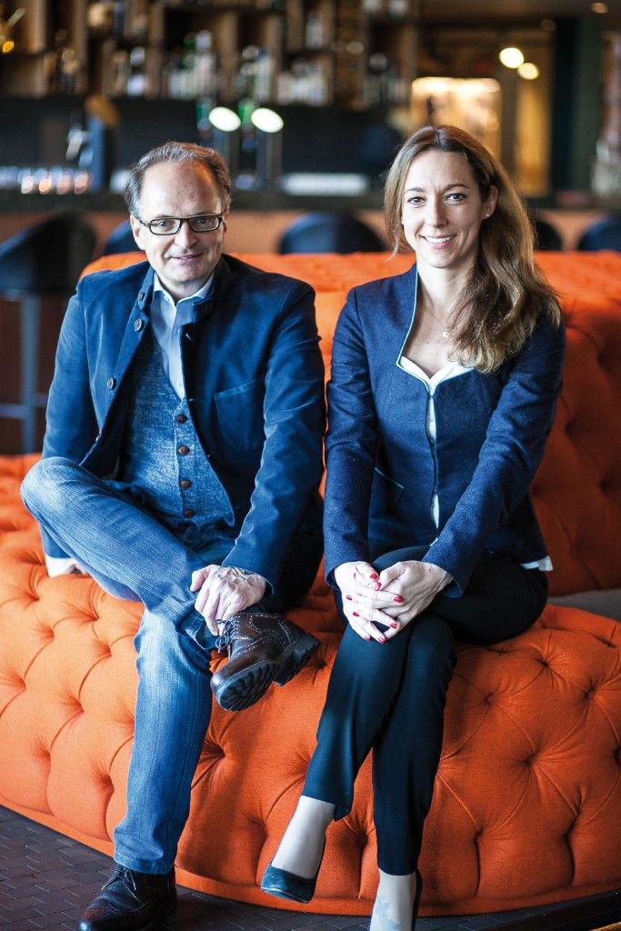 Mirka Czybik und Günter Weilguni, das Hotelier Power-Team.