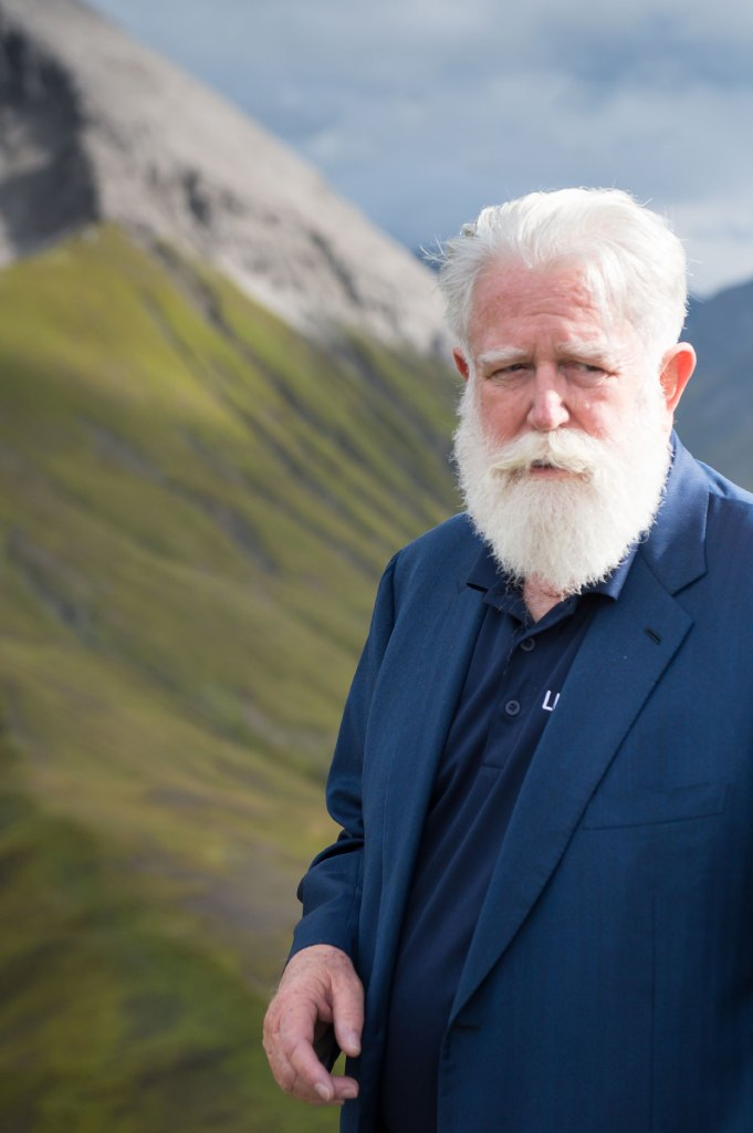James Turrell Portrait in Lech