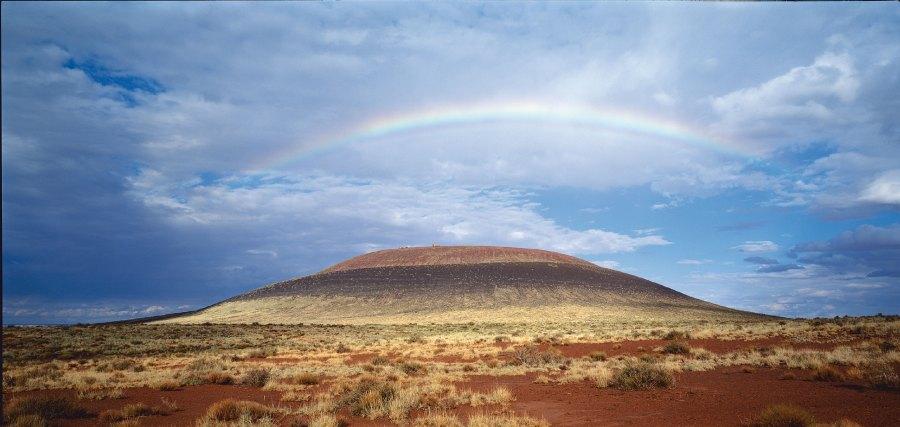 James Turrell Roden-Crater Outside, so gross wie Manhatten