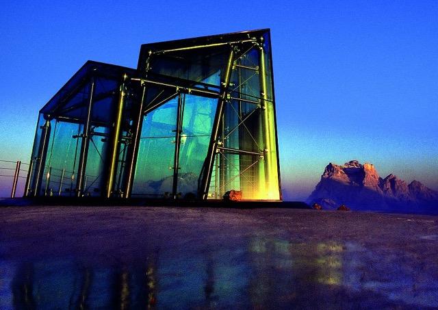 Glasarchitektur Dolomites