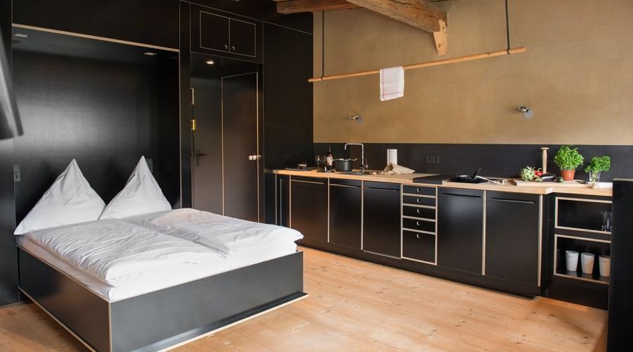Berge - Moormann K3 Bett - Küche