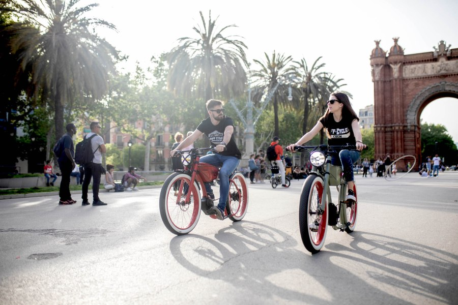Ruff Cycles in action - in Barcelona
