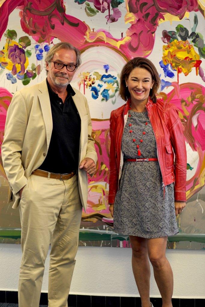 Das Powerpaar Sophie und Didier Guillon