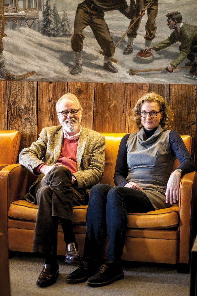 Carlos Gross und Nadja Rybarova