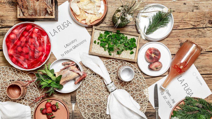 Das Konzept La Fuga beschreibt die Grundphilosophie von Gregor und Mattia: Wie sie die Welt der Gastronomie zukünftig sehen.
