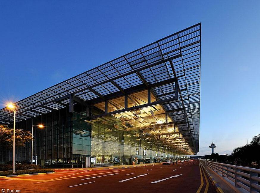 Changi Airport by night