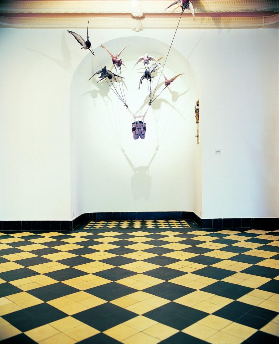Installation von Carsten Höller.