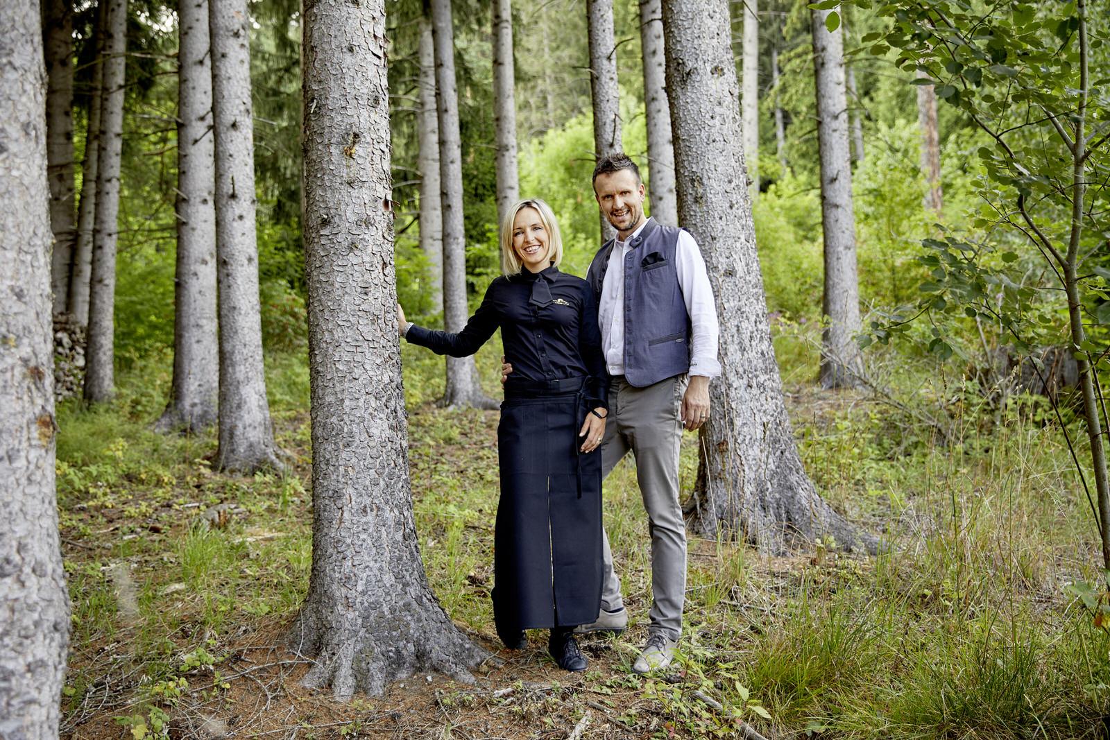 Gastgeber Magdalena und Haymo