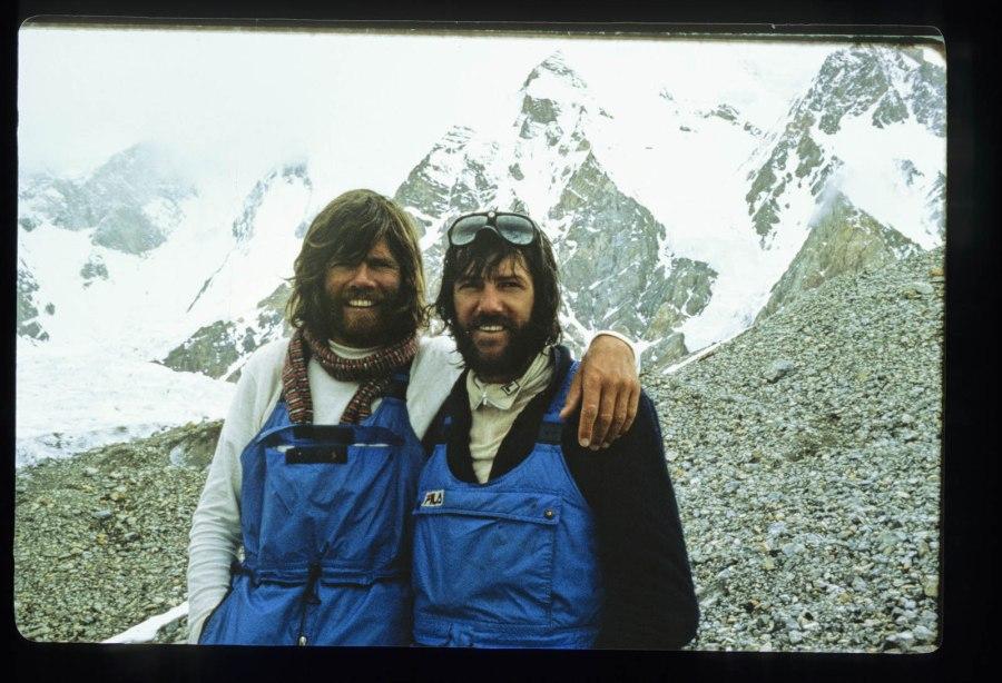 Reinhold Messner und Hans Kammerlander