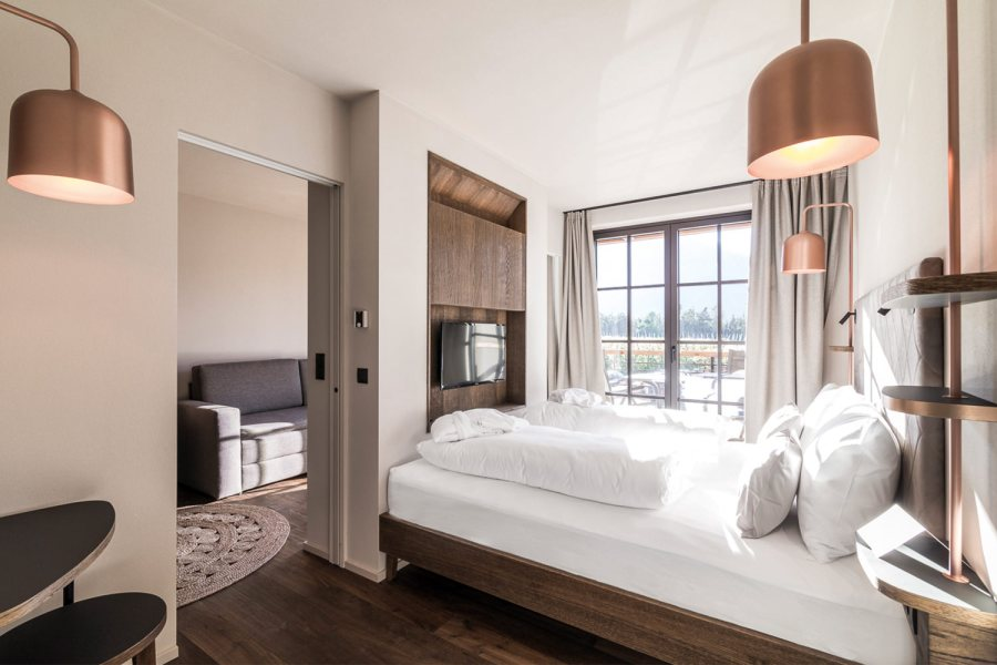 Seehof Nature Retreat: Living Junior Suite