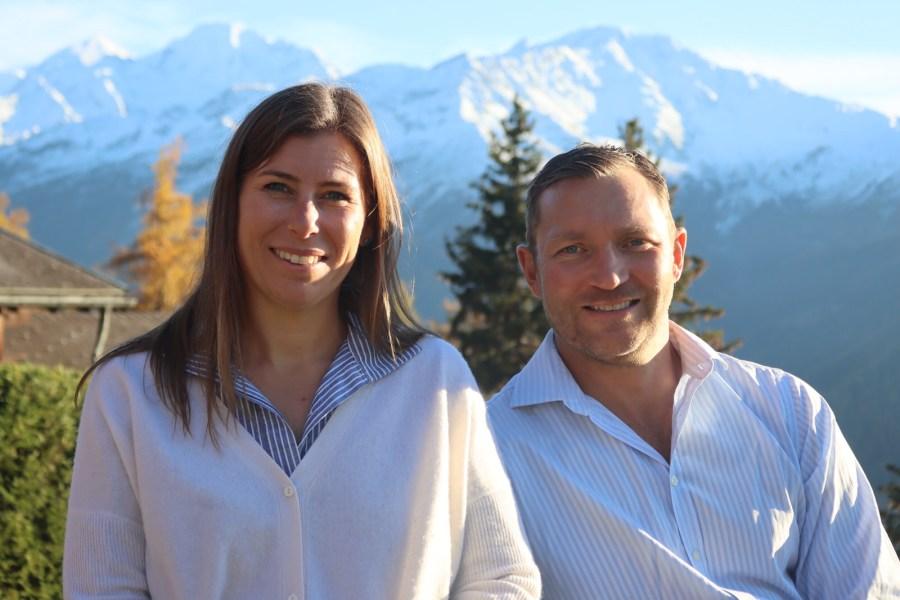 Ebba und Eld, Gastgeber im Hotel de Verbier