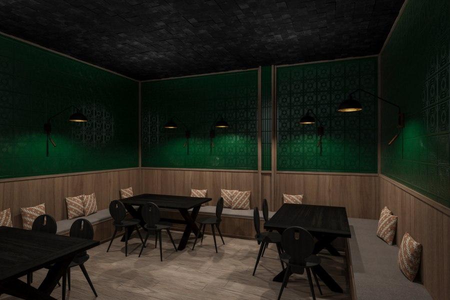 Im Restaurant und in der Bar, dem Mittelpunkt des Ullrhaus, genießt man besonders authentisch.
