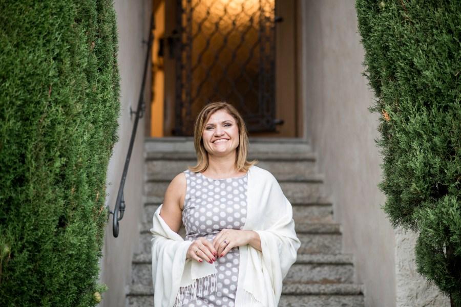 Gastgeberin auf Schloss Plars Irene Theiner