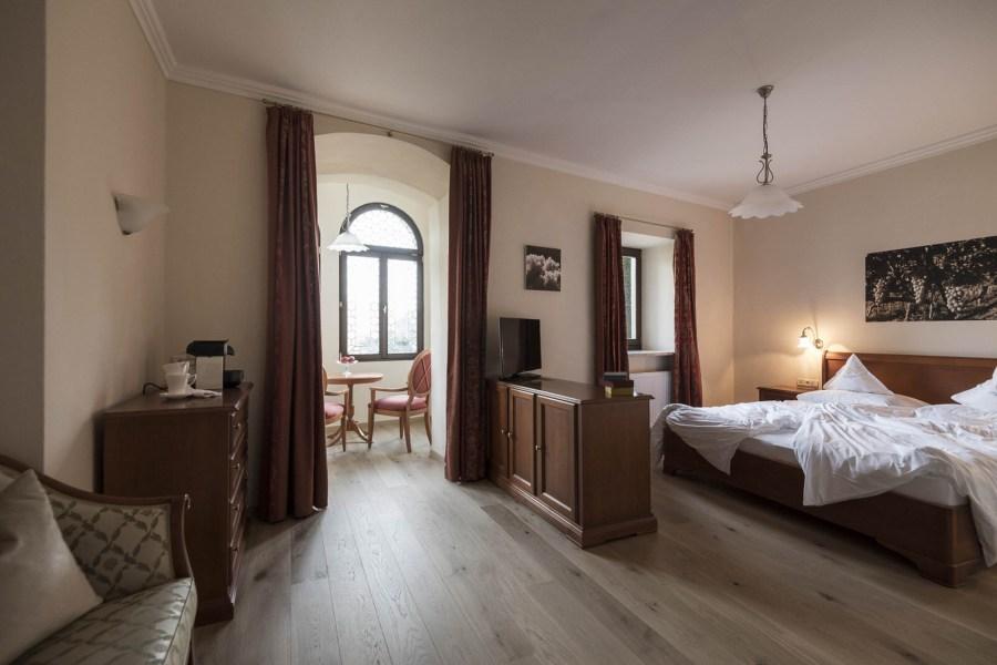 Jedes einzelne der 12 Zimmer und Suiten des Boutique Hotels sind liebevoll individuell gestaltet.