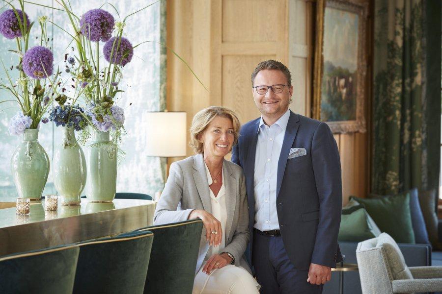 Gastgeber im Hotel Walther: Anne-Rose und Thomas Walther