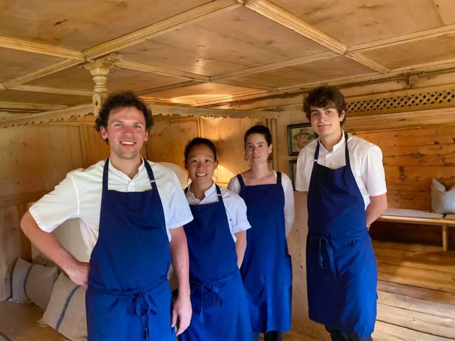 Team Restaurant Klösterle Lech
