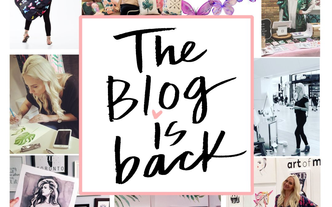 The Blog is Back!
