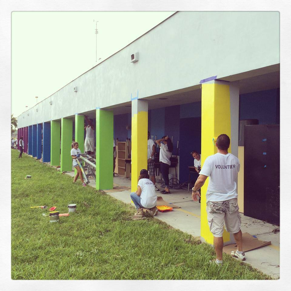 Holmes Elementary Gets Artistic Make Over  Art of Miami