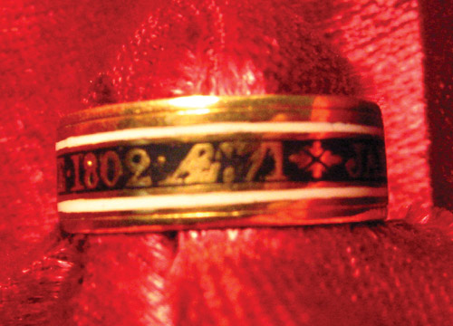 James Chifley Mourning Ring 1802