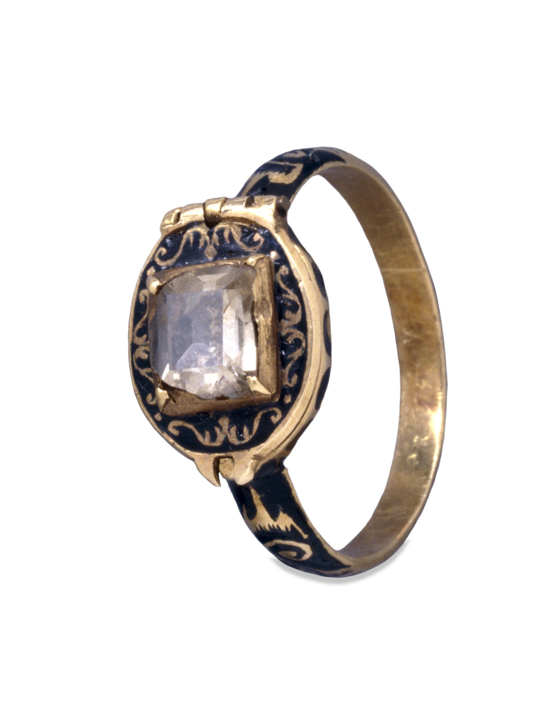 Memorial Ring Commemorating Charles I  Art Of Mourning