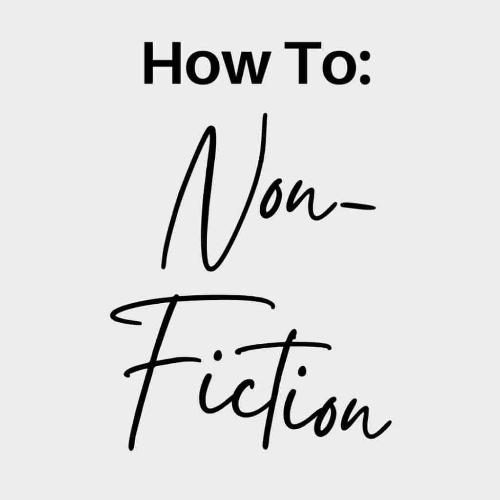 How To Non Fiction