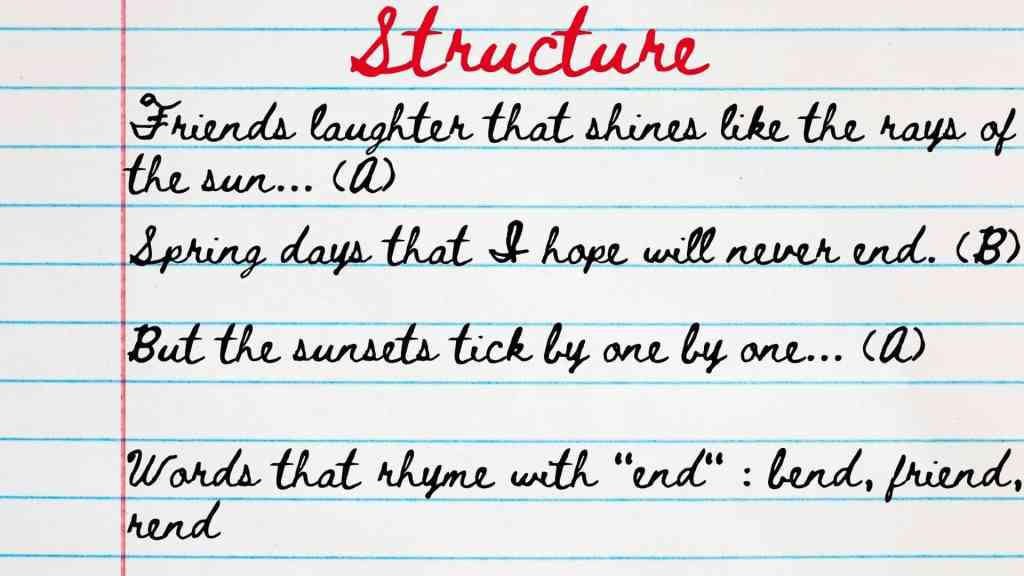Poetry stru