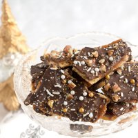 New Year's/ Christmas Crack Toffee