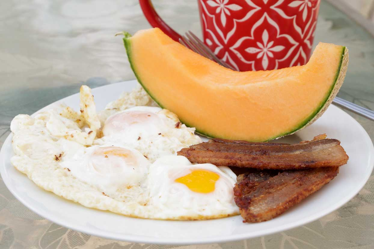 Golden Sunny Side Up Fried Egg  Art of Natural Living