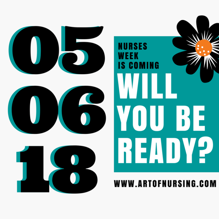 The Art of Nursing, A Nurse's Week Event #artofnursing #nursesweek