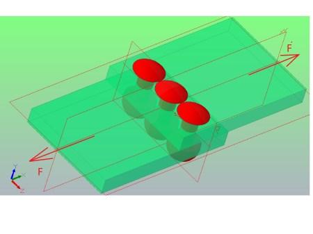 scinanie2 - Obliczenie połączenia nitowego - zadanie 15