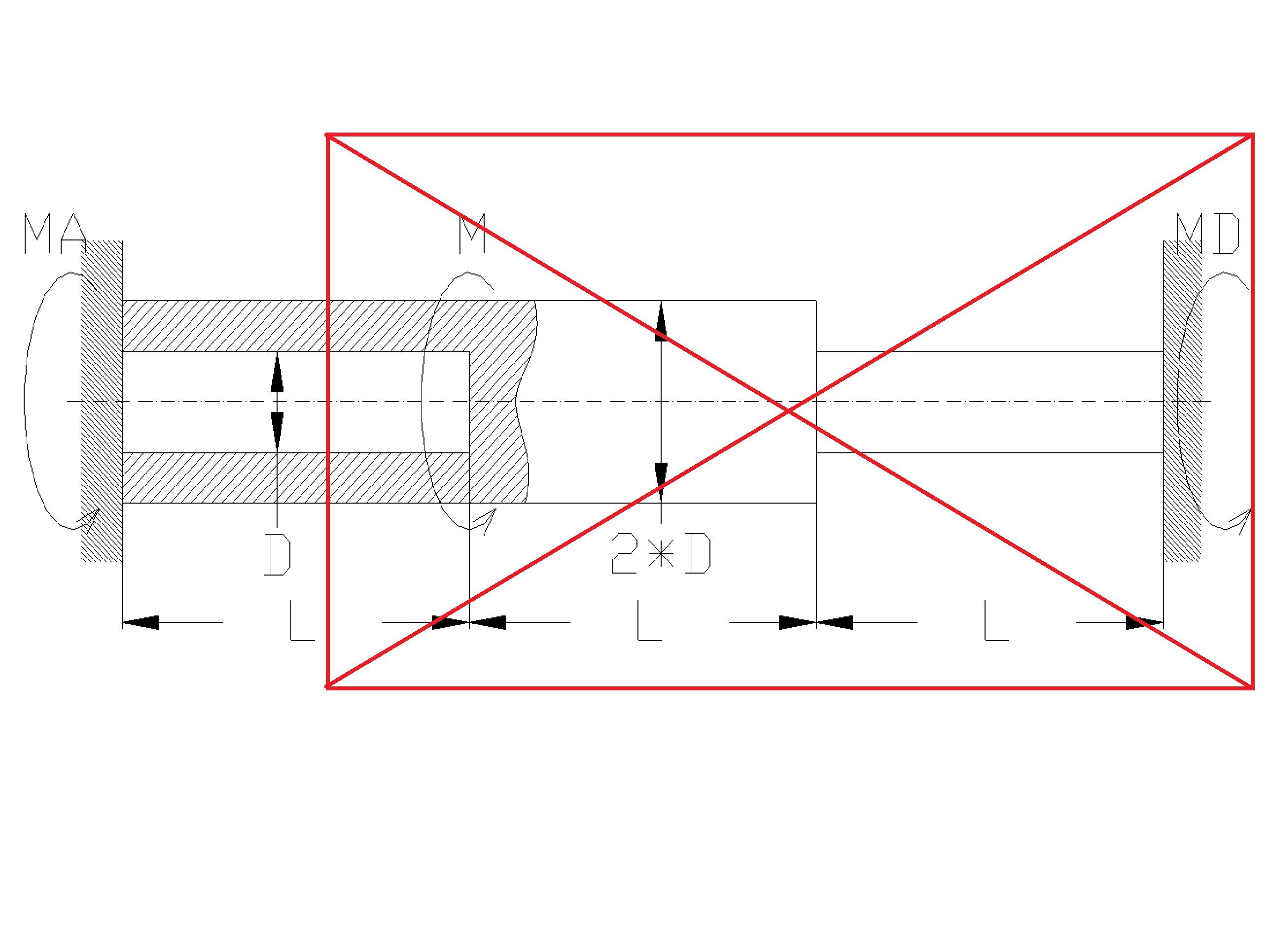 skrecanie3 - Skręcanie - wytrzymałość materiałów - zadanie 13