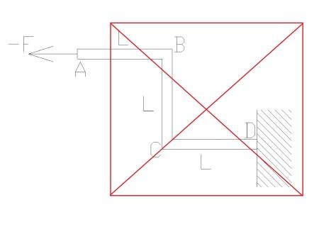 zlozona3 - Wytrzymałość złożona - rozciąganie ze zginaniem i ścinaniem - zadanie