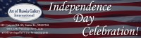 Independence Day Celebration, opening July 3, 5-7pm