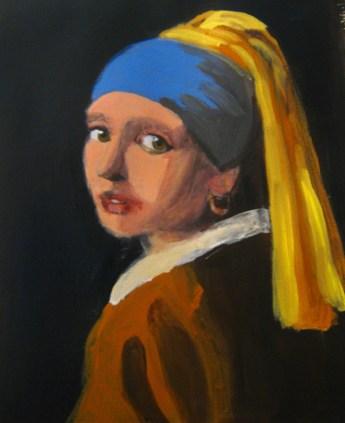 Vermeer Copy Initial Color Lay in